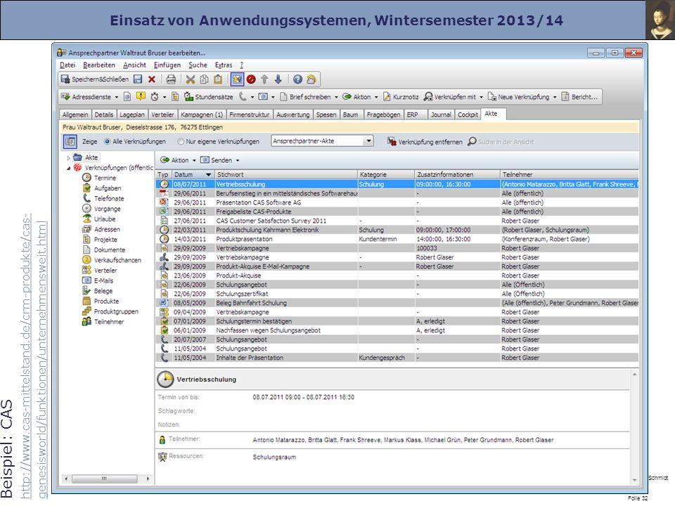 Beispiel: CAS http://www. cas-mittelstand
