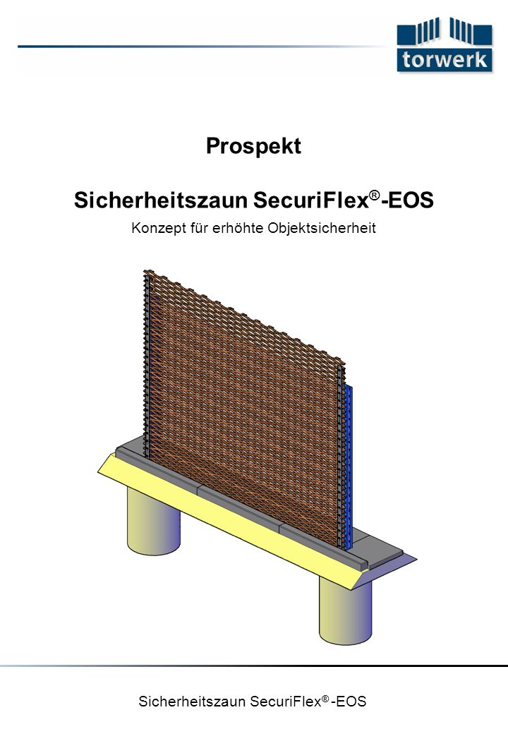 Sicherheitszaun SecuriFlex®-EOS