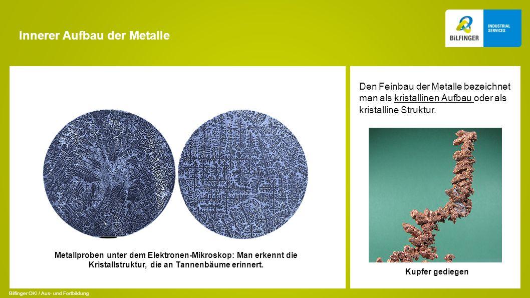 Innerer Aufbau der Metalle