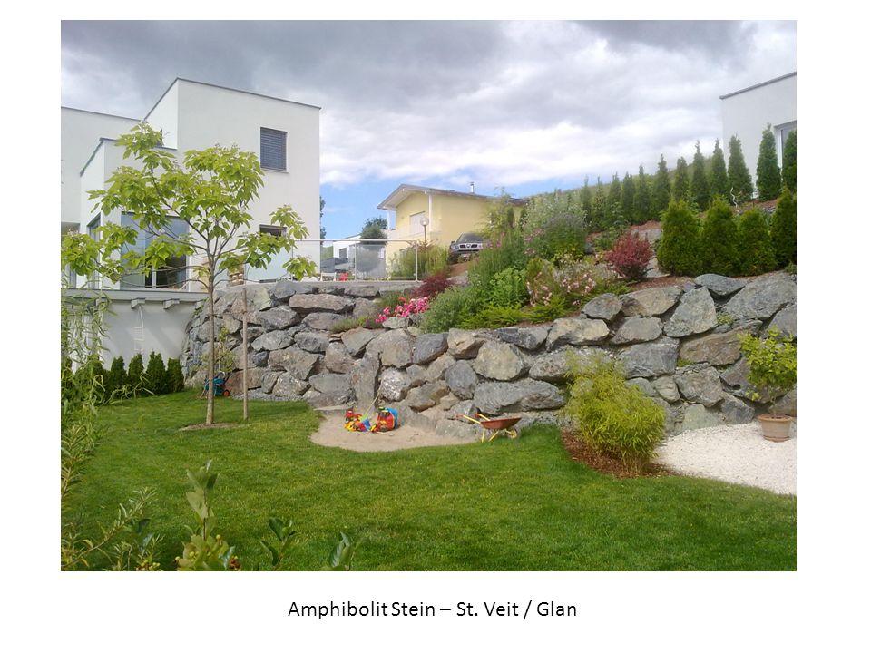 Amphibolit Stein – St. Veit / Glan