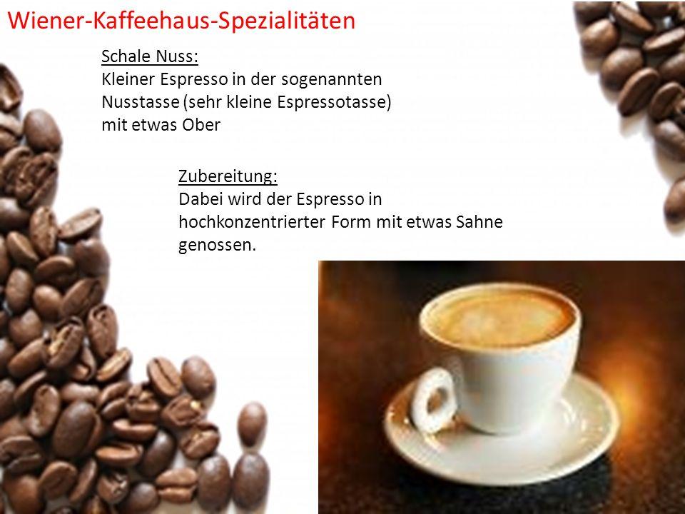 Wiener-Kaffeehaus-Spezialitäten