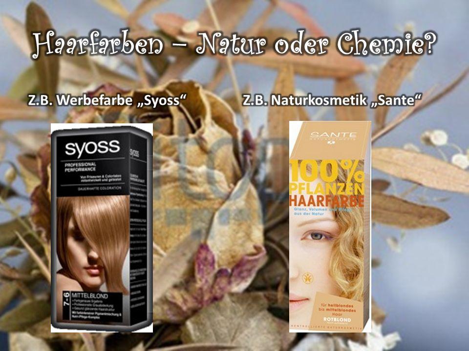 Haarfarben – Natur oder Chemie