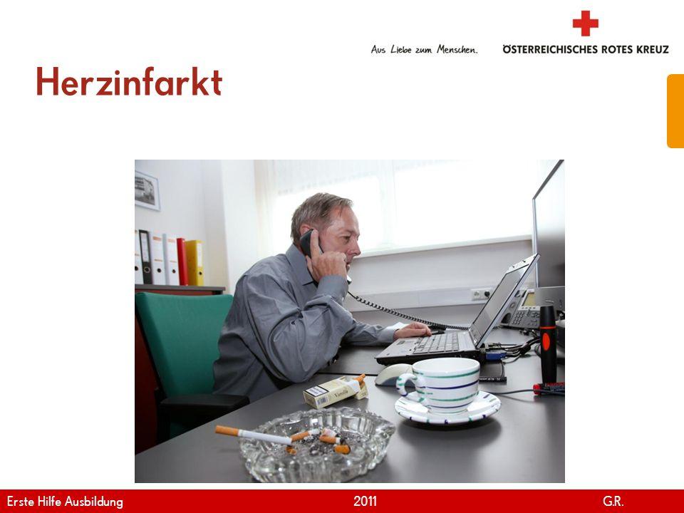 Herzinfarkt Erste Hilfe Ausbildung 2011 G.R.