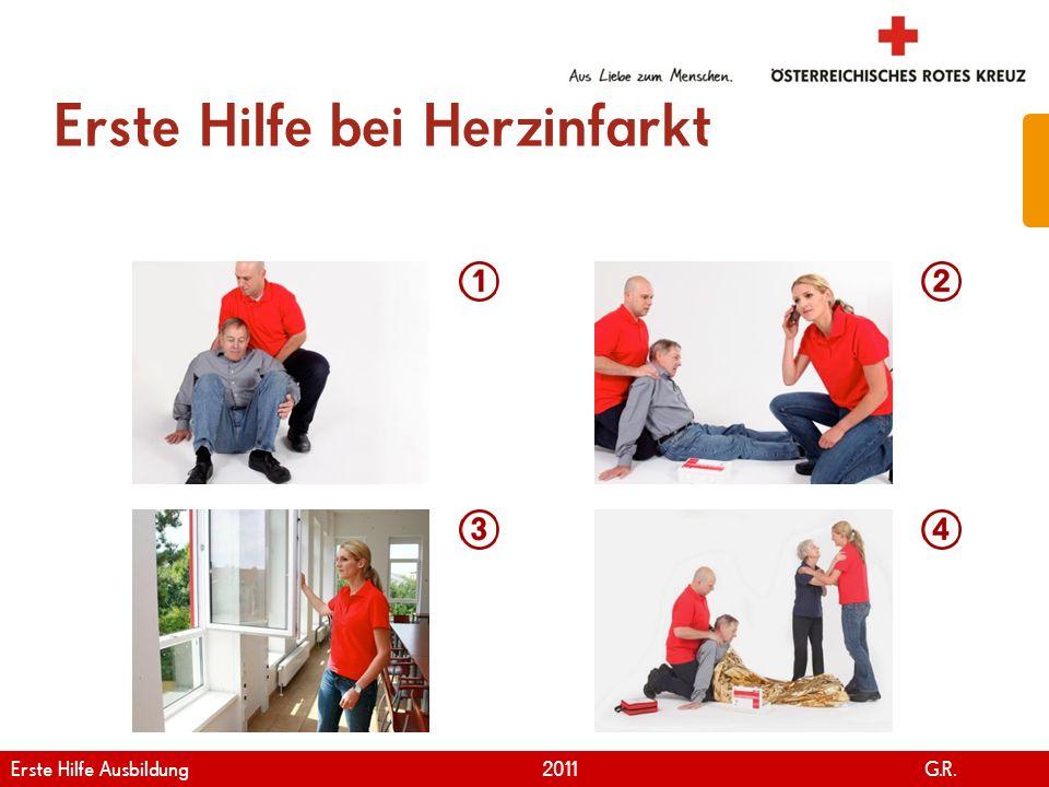 Erste Hilfe bei Herzinfarkt