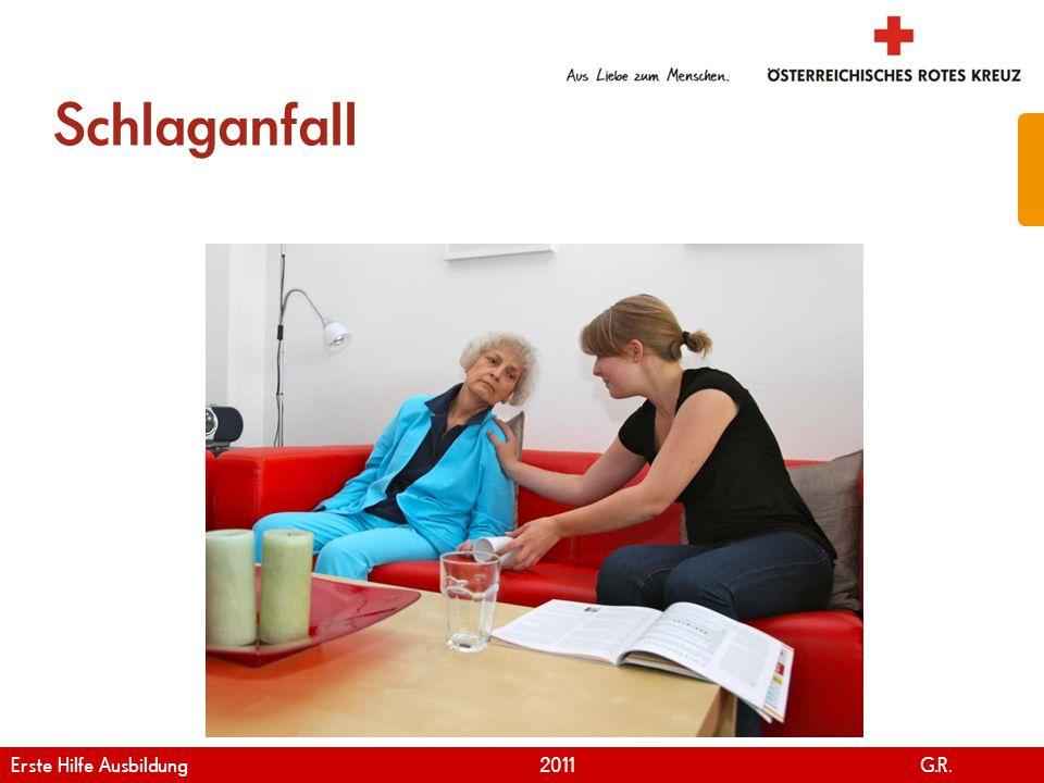Schlaganfall Erste Hilfe Ausbildung 2011 G.R.