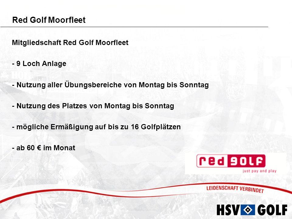 Red Golf Moorfleet Mitgliedschaft Red Golf Moorfleet - 9 Loch Anlage