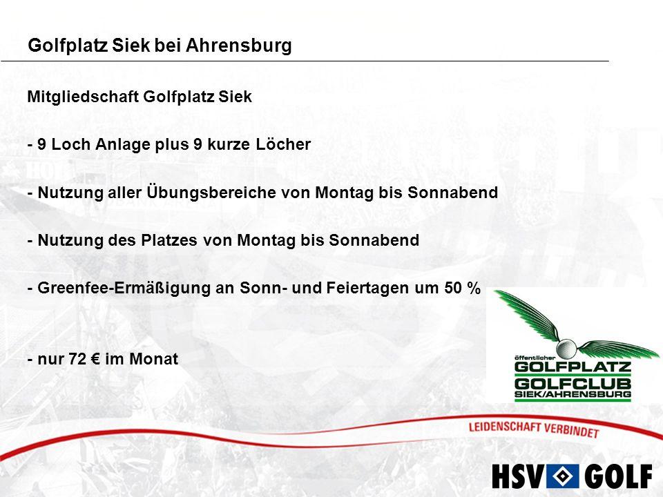 Golfplatz Siek bei Ahrensburg