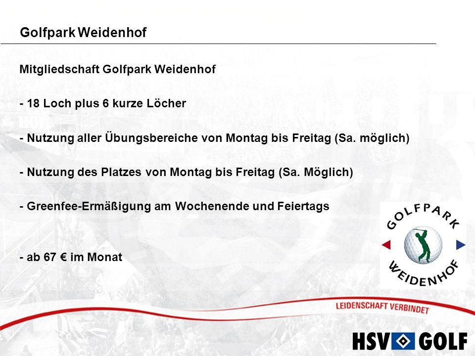 Golfpark Weidenhof Mitgliedschaft Golfpark Weidenhof