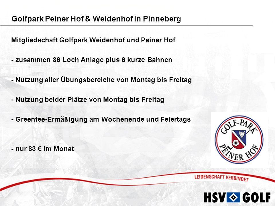 Golfpark Peiner Hof & Weidenhof in Pinneberg
