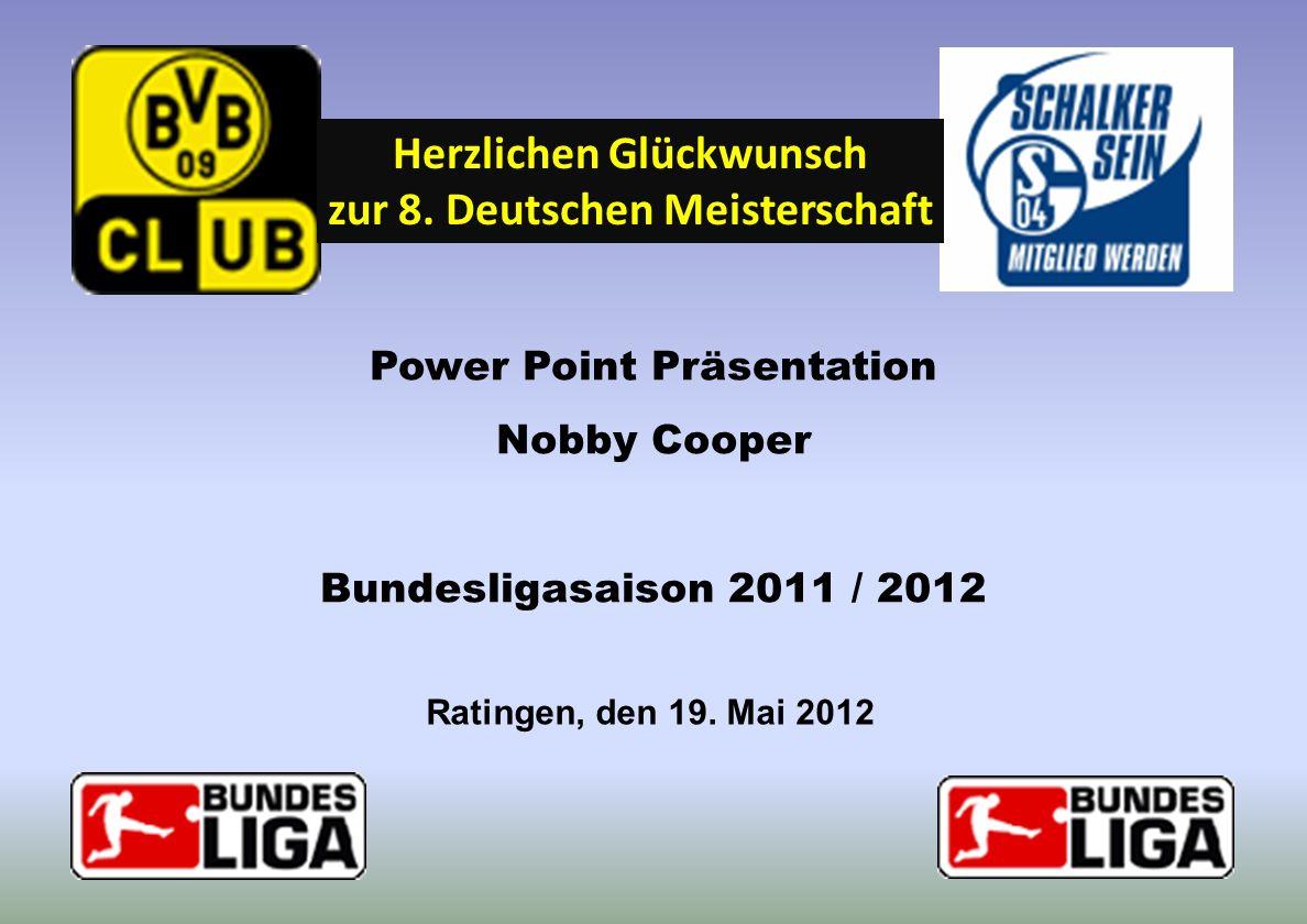 Herzlichen Glückwunsch zur 8. Deutschen Meisterschaft