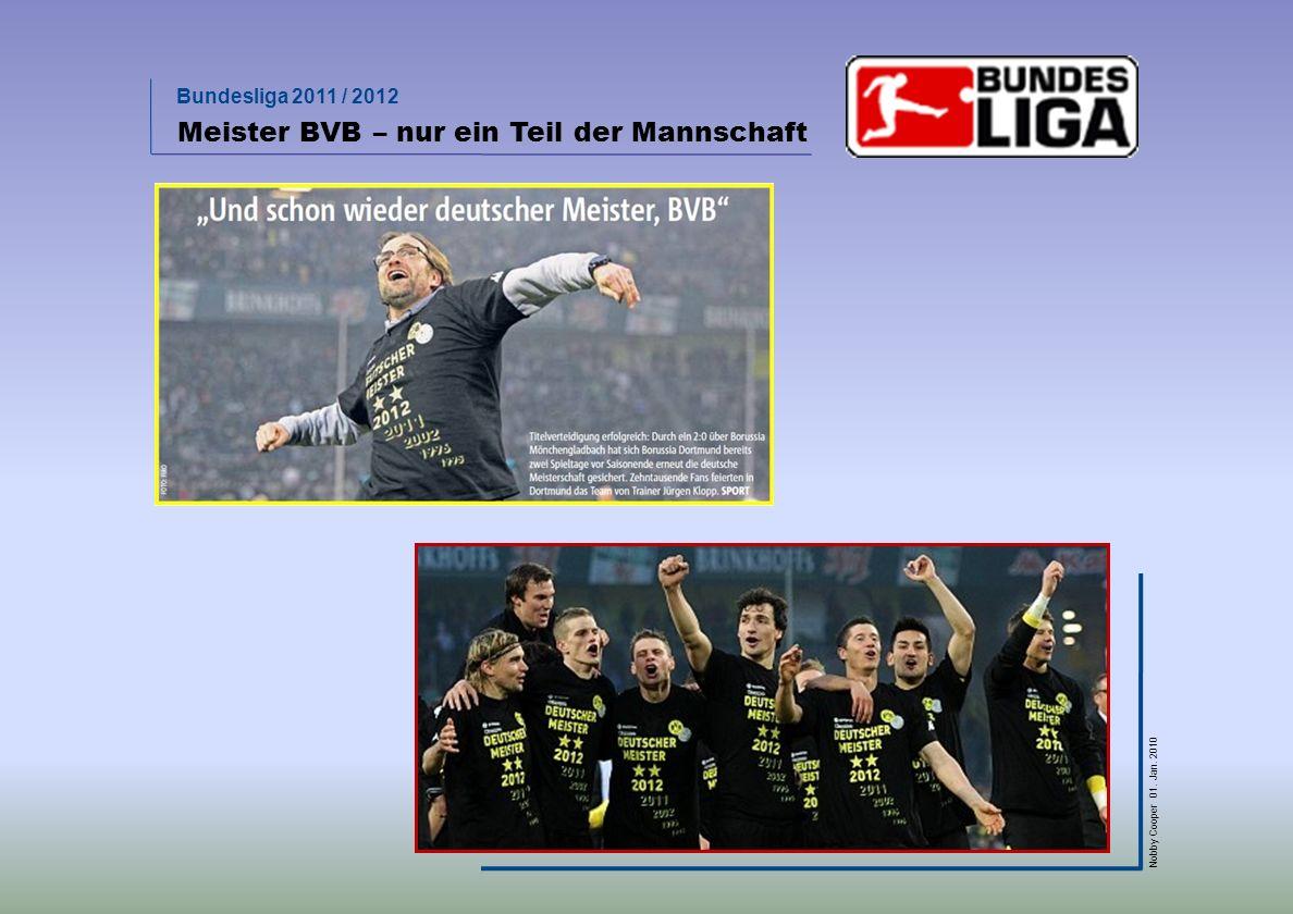 Meister BVB – nur ein Teil der Mannschaft