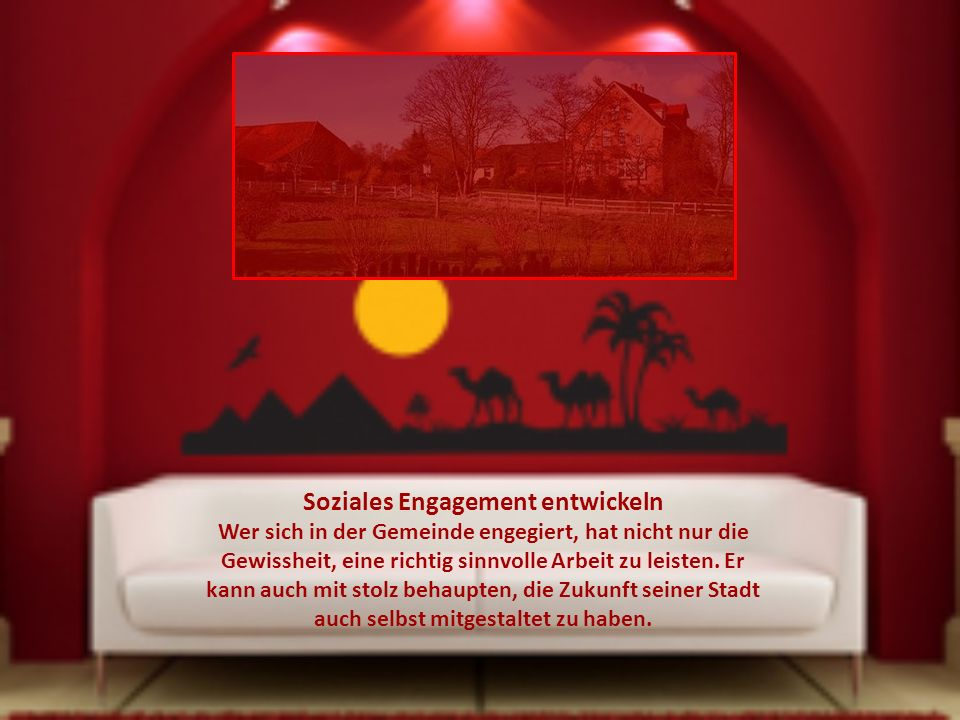 Soziales Engagement entwickeln