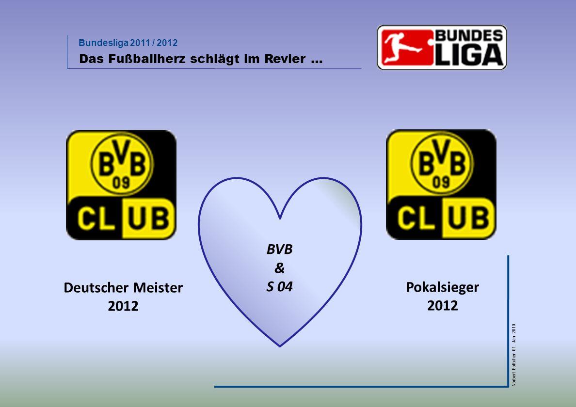 BVB & S 04 Deutscher Meister 2012 Pokalsieger 2012