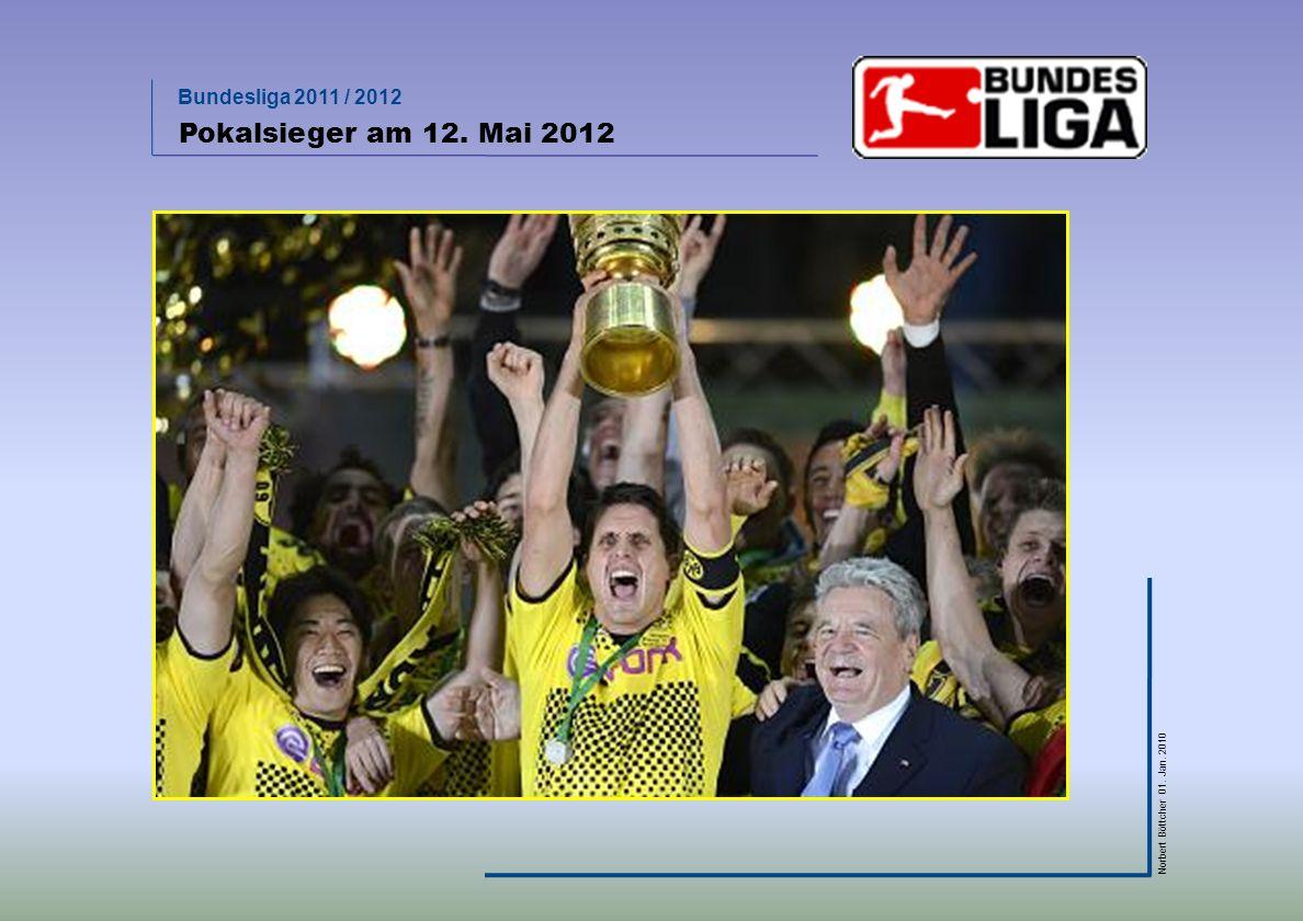 Pokalsieger am 12. Mai 2012