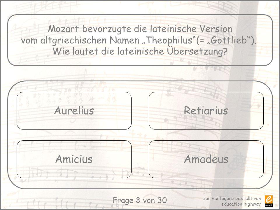 Aurelius Retiarius Amicius Amadeus