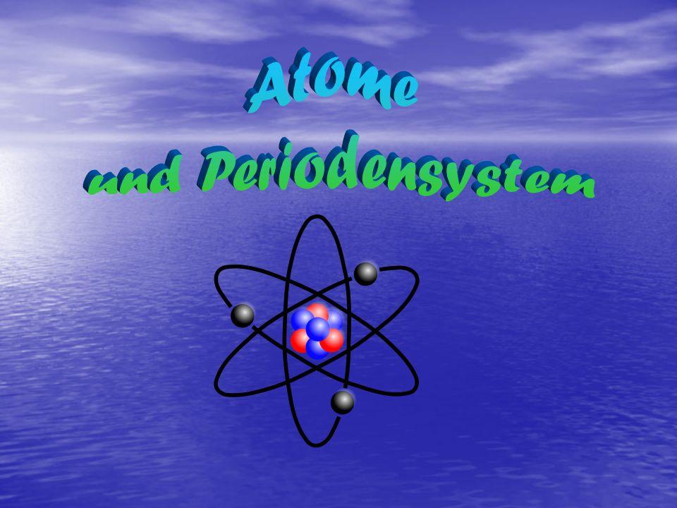 Atome und Periodensystem