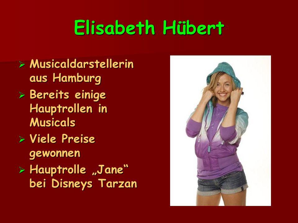 Elisabeth Hübert Musicaldarstellerin aus Hamburg