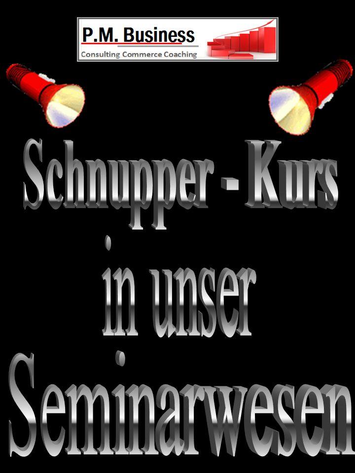 Schnupper - Kurs in unser Seminarwesen