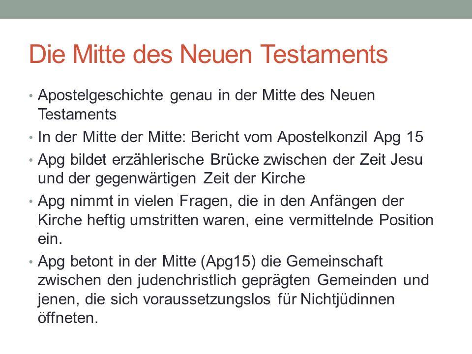 Die Mitte des Neuen Testaments
