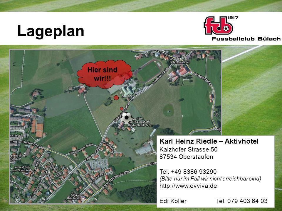 Lageplan Hier sind wir!!! Karl Heinz Riedle – Aktivhotel