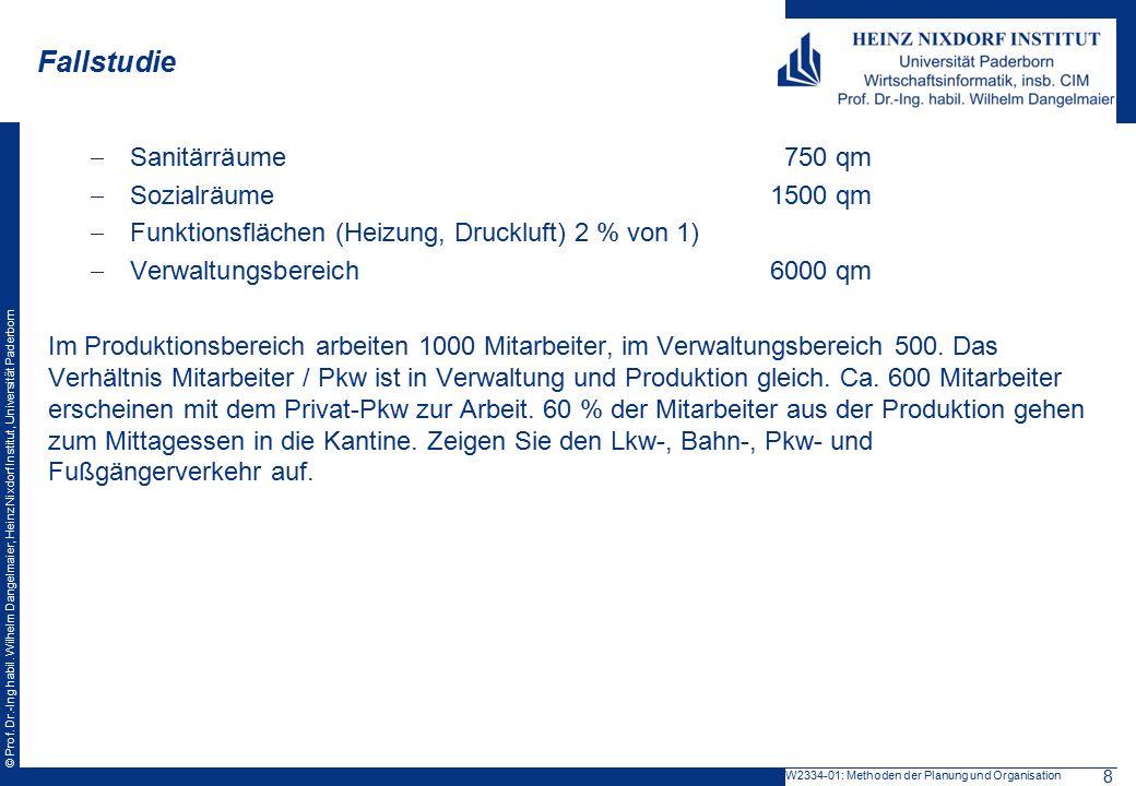 Fallstudie Sanitärräume 750 qm Sozialräume 1500 qm
