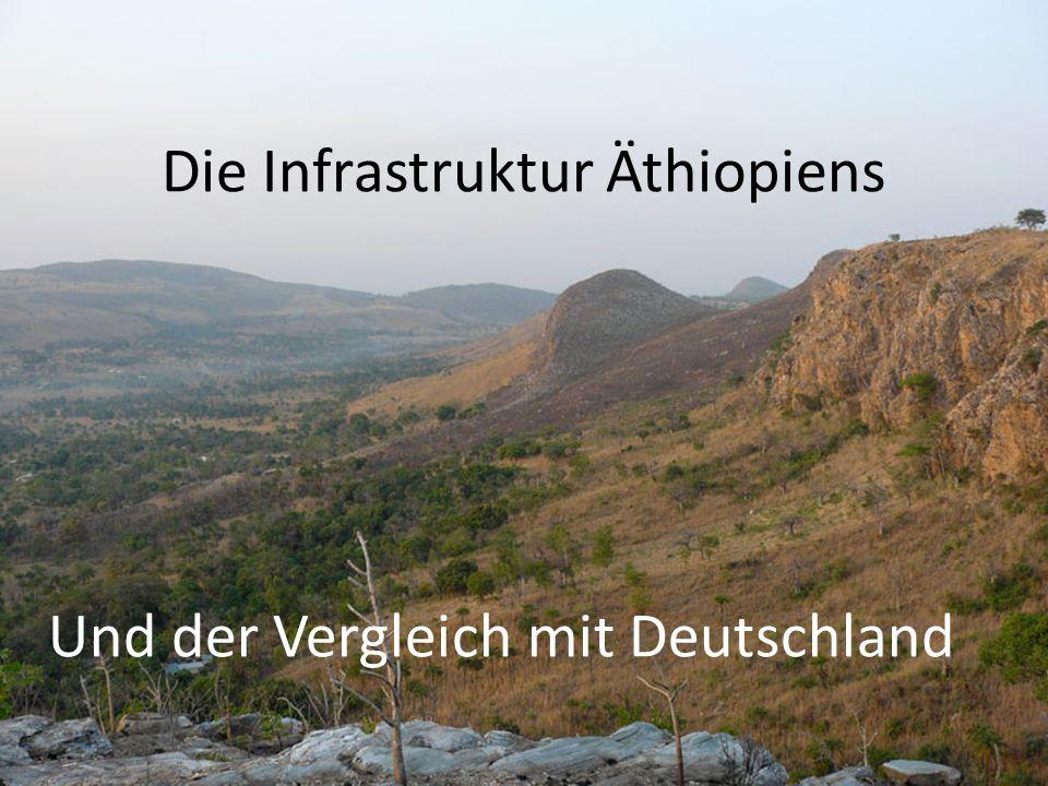 Die Infrastruktur Äthiopiens