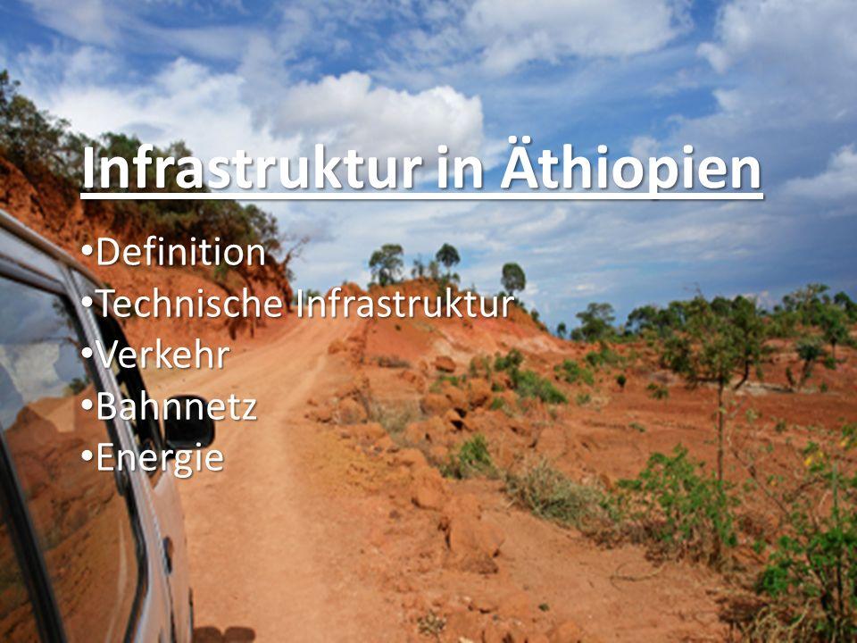 Infrastruktur in Äthiopien