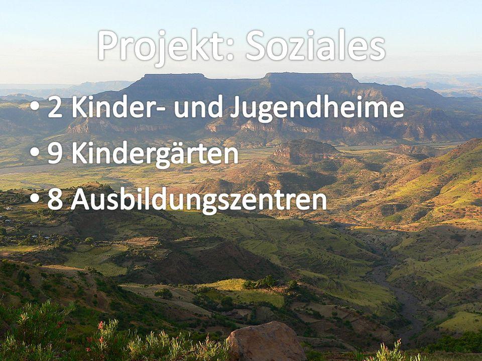 Projekt: Soziales 2 Kinder- und Jugendheime 9 Kindergärten