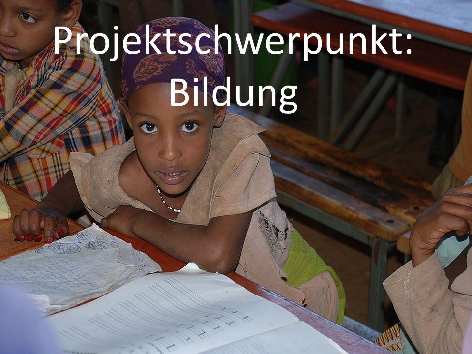 Projektschwerpunkt: Bildung