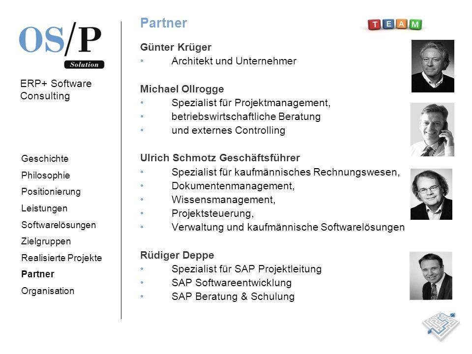Partner Günter Krüger Architekt und Unternehmer Michael Ollrogge
