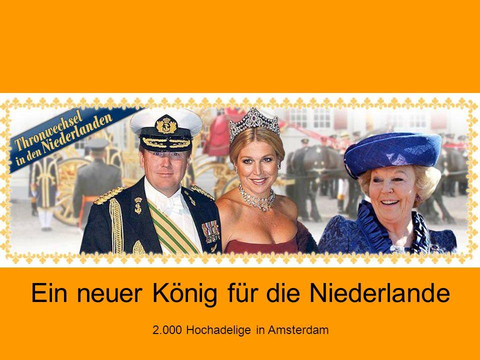Ein neuer König für die Niederlande