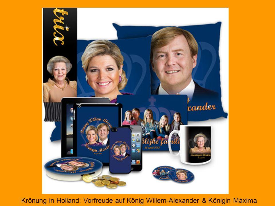 Krönung in Holland: Vorfreude auf König Willem-Alexander & Königin Máxima