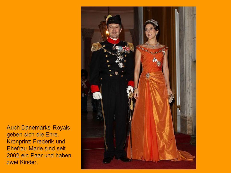 Auch Dänemarks Royals geben sich die Ehre