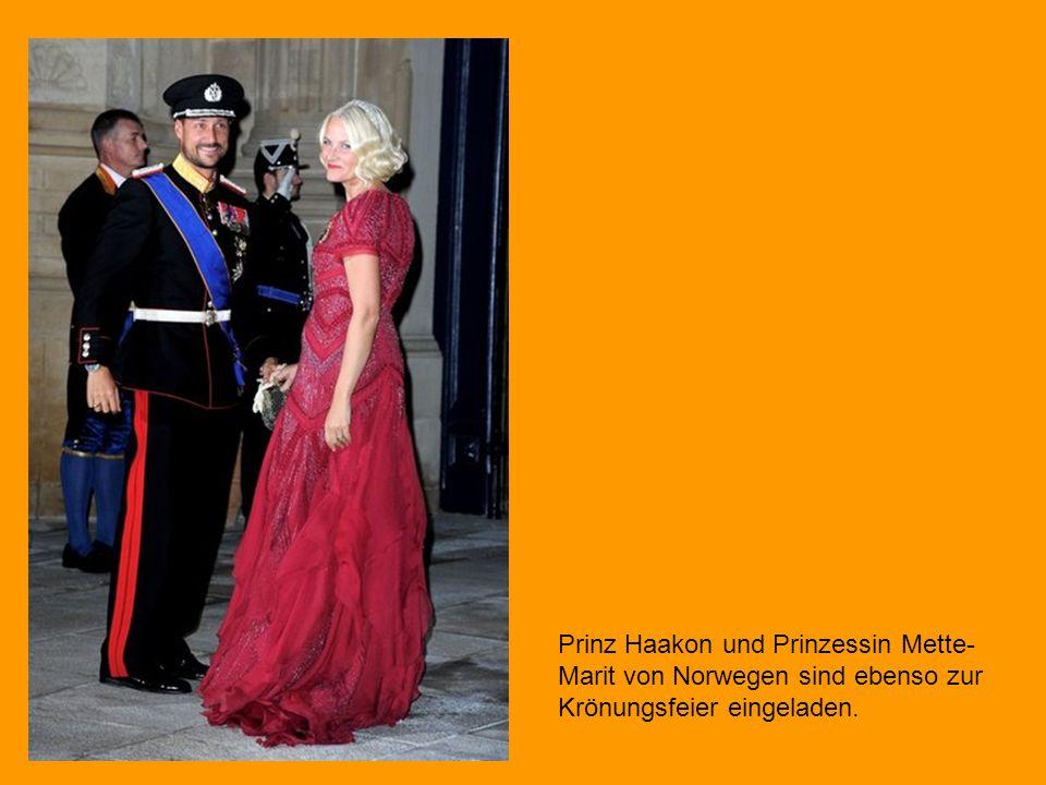 Prinz Haakon und Prinzessin Mette-Marit von Norwegen sind ebenso zur Krönungsfeier eingeladen.