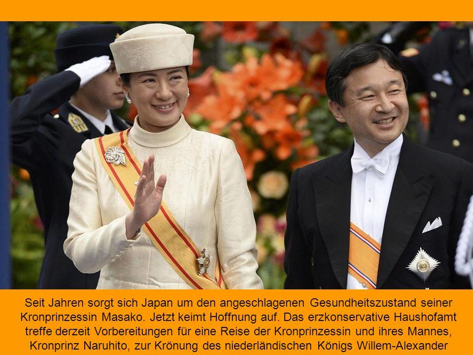 Seit Jahren sorgt sich Japan um den angeschlagenen Gesundheitszustand seiner Kronprinzessin Masako.