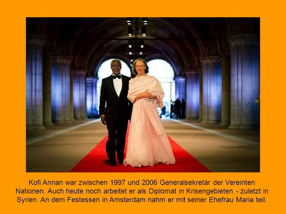 Kofi Annan war zwischen 1997 und 2006 Generalsekretär der Vereinten Nationen.