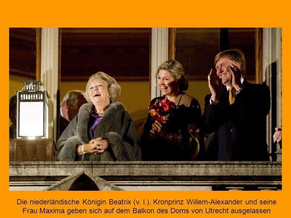 Die niederländische Königin Beatrix (v. l