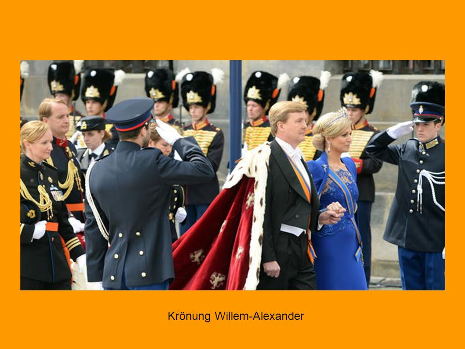 Krönung Willem-Alexander