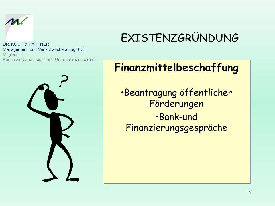 Finanzmittelbeschaffung