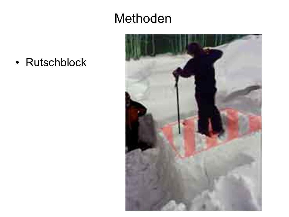 Methoden Rutschblock