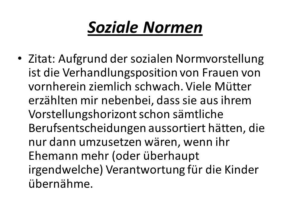 Soziale Normen