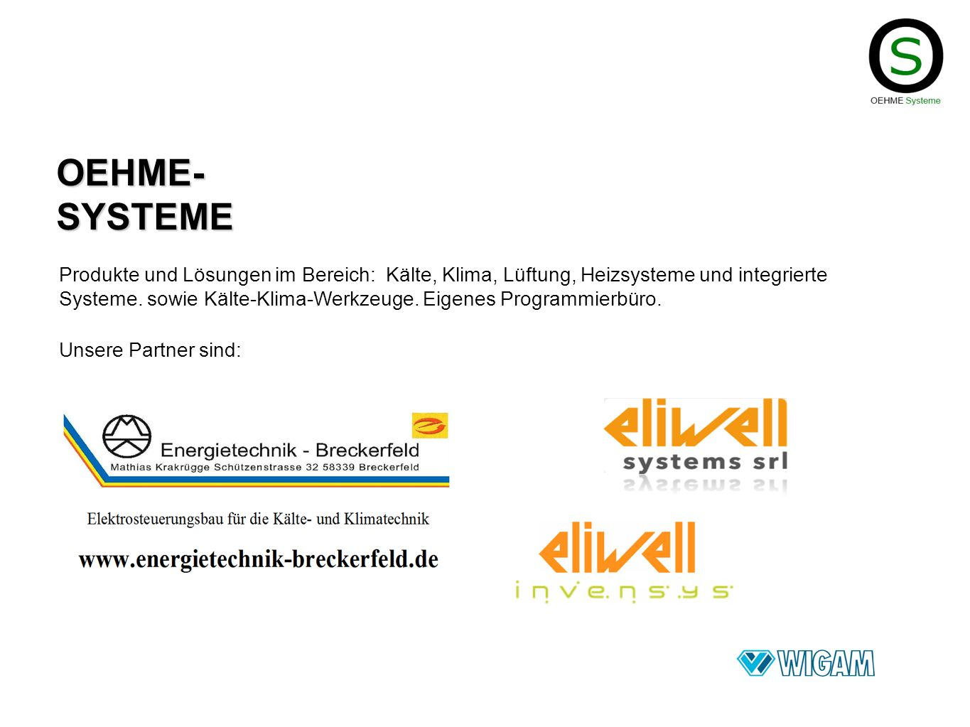 OEHME-SYSTEME