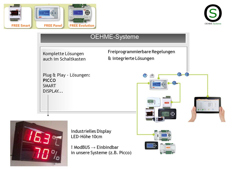 OEHME-Systeme Freiprogrammierbare Regelungen