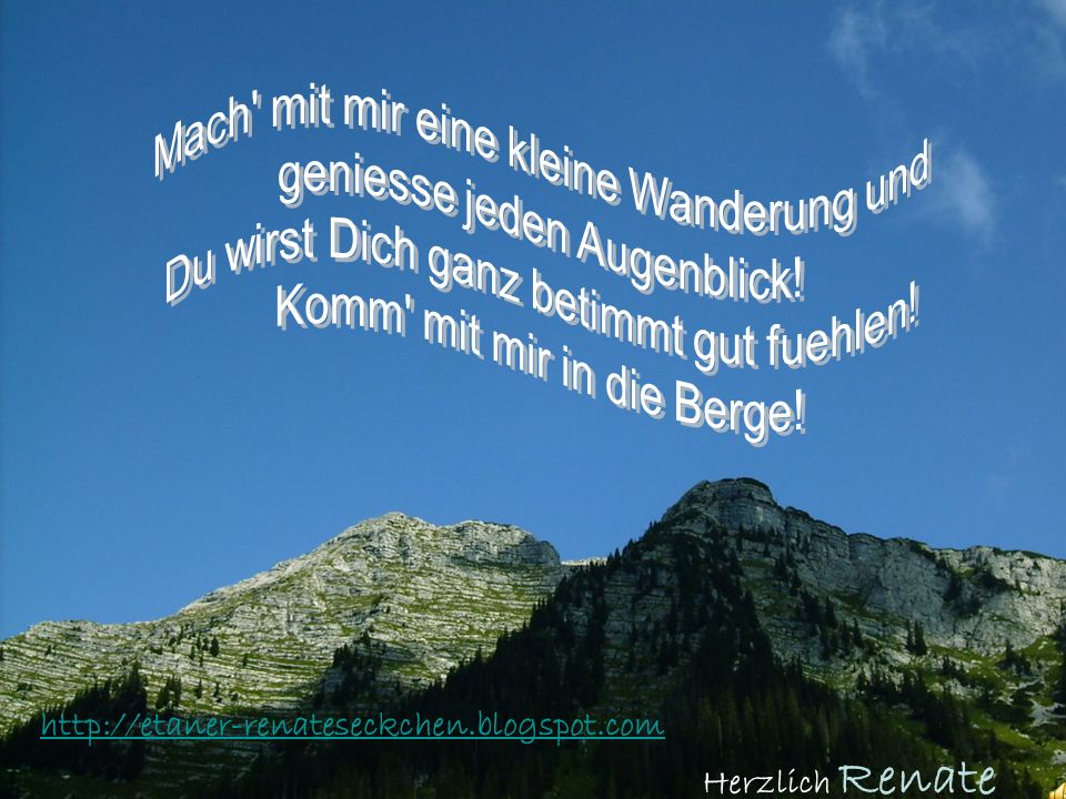 http://etaner-renateseckchen.blogspot.com Herzlich Renate