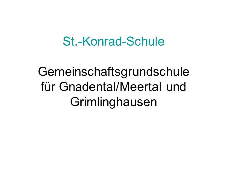 St.-Konrad-Schule Gemeinschaftsgrundschule für Gnadental/Meertal und Grimlinghausen
