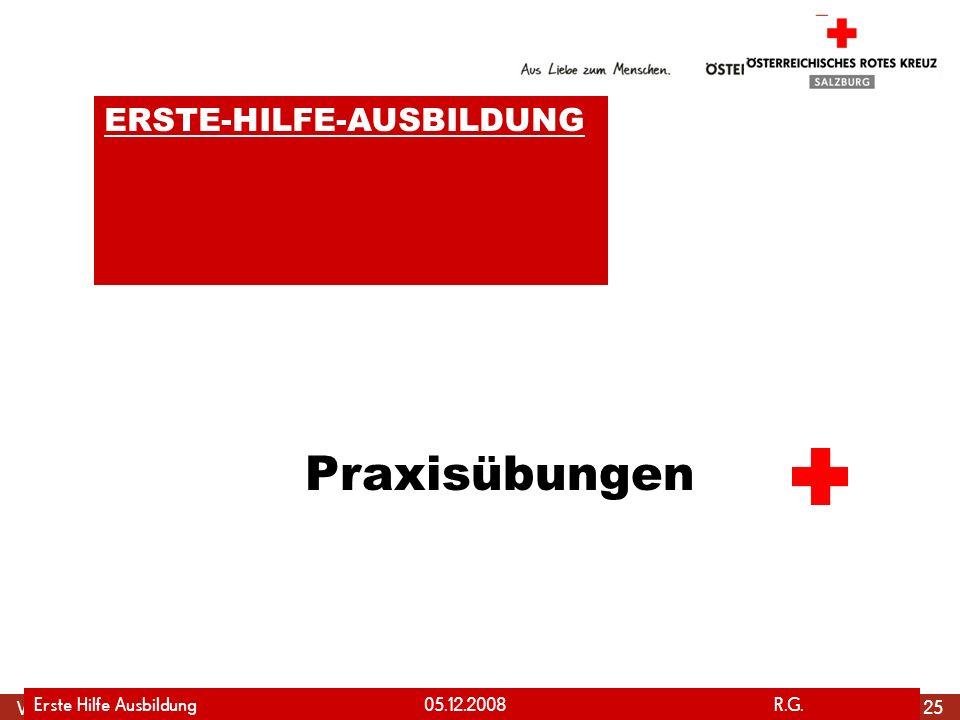 Praxisübungen ERSTE-HILFE-AUSBILDUNG