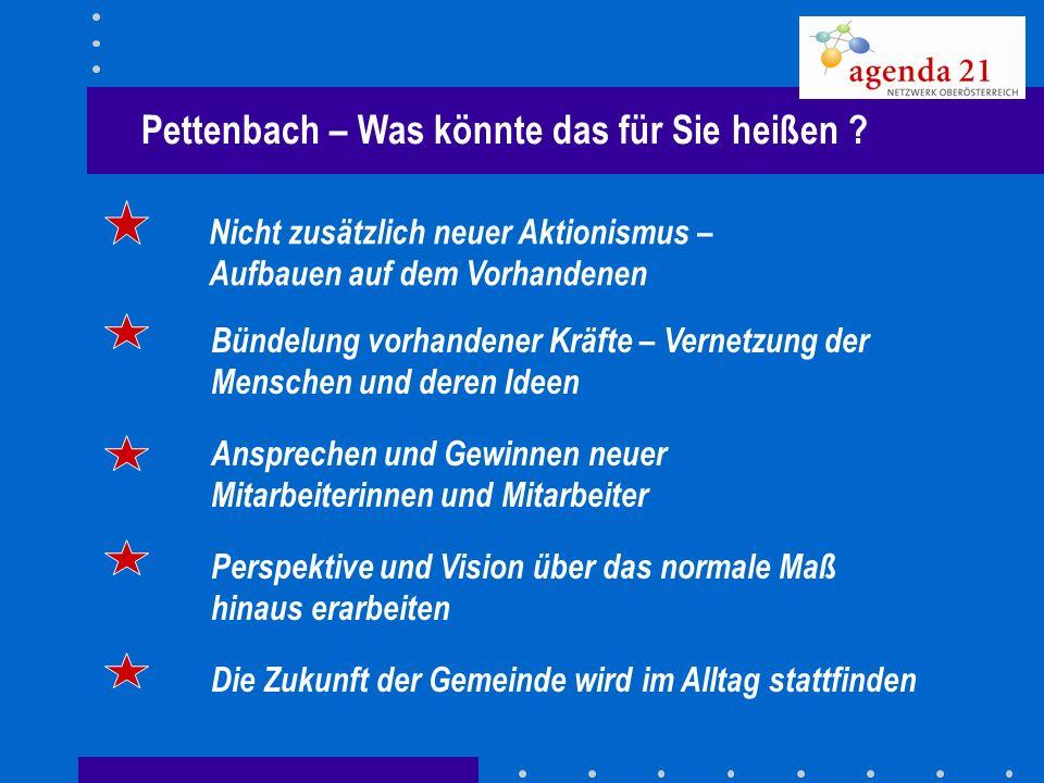 Pettenbach – Was könnte das für Sie heißen