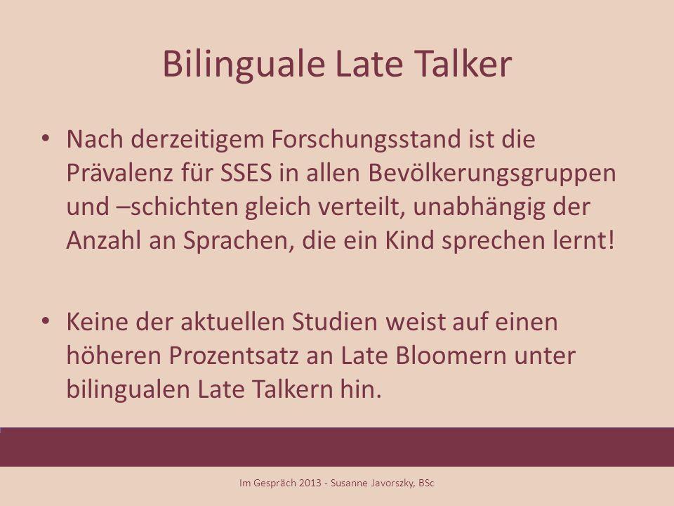 Bilinguale Late Talker