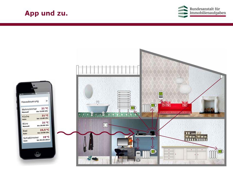 App und zu. Heizungssteuerung per Smartphone