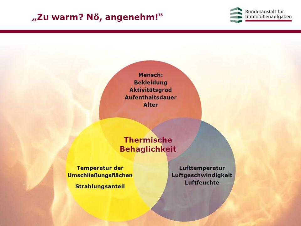 """""""Zu warm Nö, angenehm! Einflussfaktoren der thermischen Behaglichkeit. Inhaltliche Zusammenfassung."""